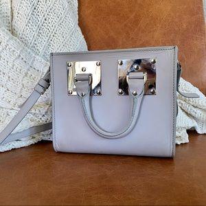 Sophie Hulme Grey Albion Box Crossbody Bag